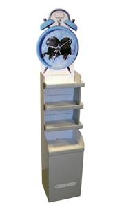 Displayställ diskställ
