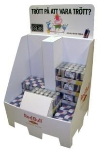 Corrugated Display Stands for Pallet displays